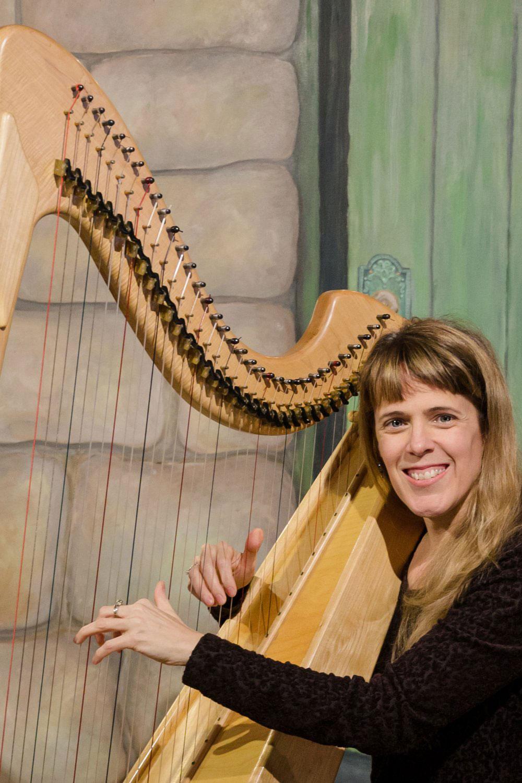 Rebecca Blair harp teacher
